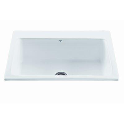 "Reliance 33"" x 22.25"" Reflection Single Bowl Kitchen Sink Product Photo"