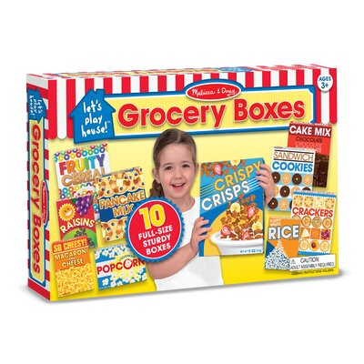 Let's Play House Grocery Boxes by Melissa & Doug