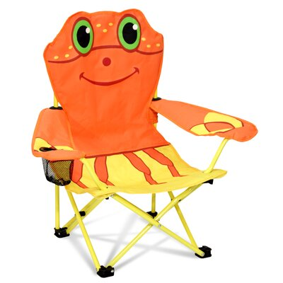 Clicker Crab Kid's Directors Chair by Melissa & Doug