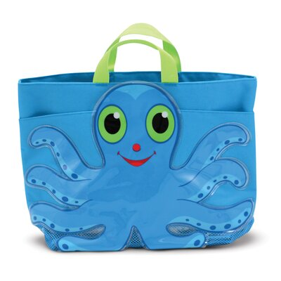Flex Octopus Beach Tote Bag by Melissa & Doug