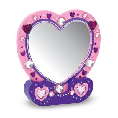 Melissa & Doug Heart Mirror DYO