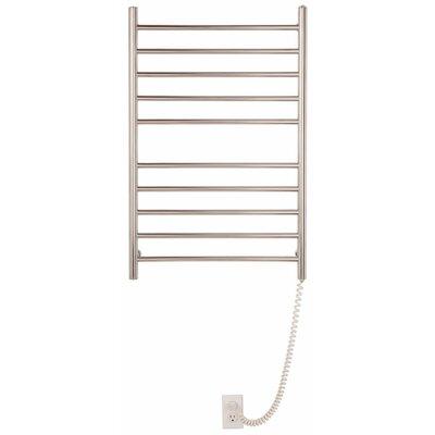 Pearl 10 Bar Wall Mount Electric Towel Warmer by Myson