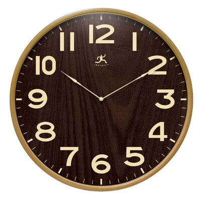 "Infinity Instruments 12.5"" Arbor Wall Clock"