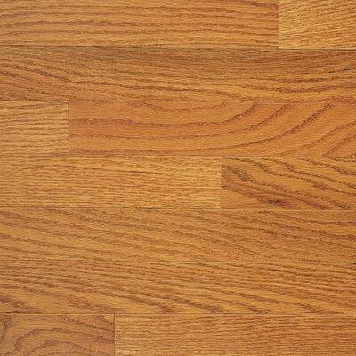 """Somerset Floors Color Plank 3-1/4"""" Engineered Red Oak Hardwood Flooring in Golden Oak"""