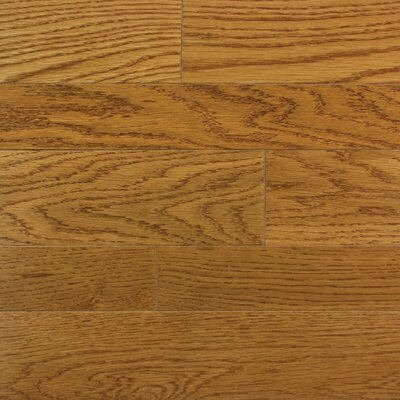 "Somerset Floors Homestyle 2-1/4"" Solid White Oak Hardwood Flooring in Butterscotch"