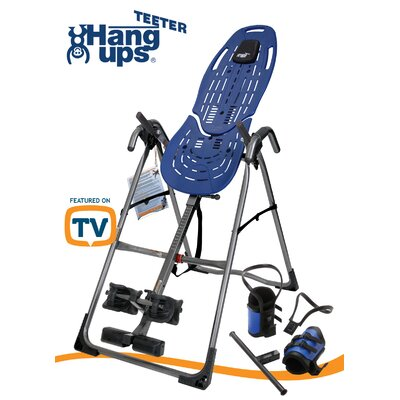 Teeter Hang Ups Teeter EP-560™ Sport Edition Inversion Table with Gravity Boots and Back Pain Relief DVD
