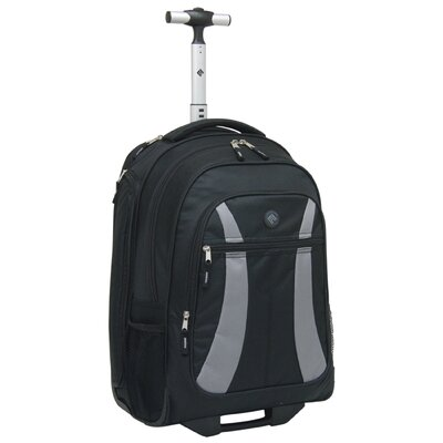 Rolling Backpack with Laptop Compartment by Travelers Club