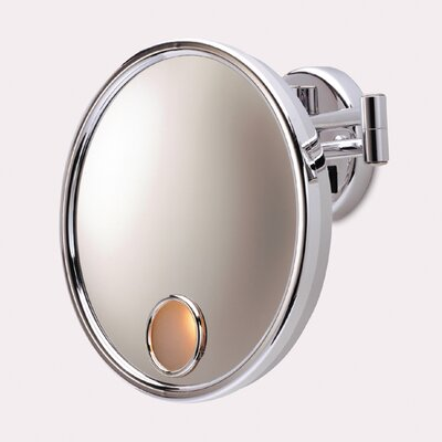 Euro Hard Wired Wall Mount Lighted Mirror by Jerdon