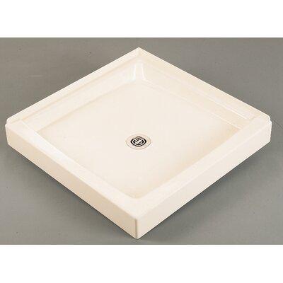 "Cascade 36"" x 36"" Double Shower Floor Product Photo"