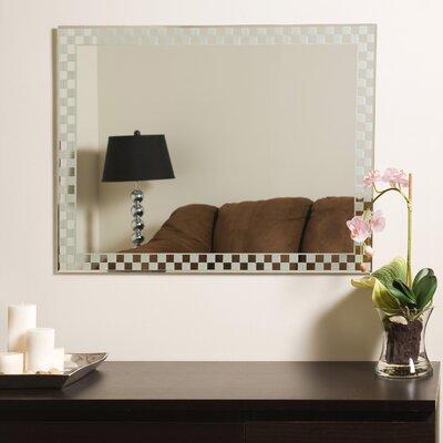 Decor Wonderland Frameless Liana Wall Mirror