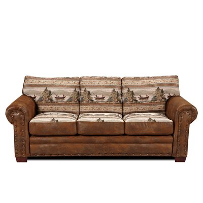 Lodge Alpine Sofa by American Furniture Classics