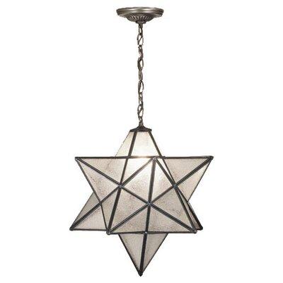 1 Light Star Pendant Product Photo