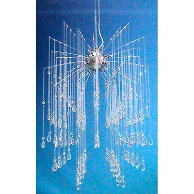 Meyda Tiffany Euro Crystal 16 Light Cascade Pendant