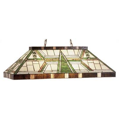 Dana House Oblong 6 Light Pool Table Light by Meyda Tiffany