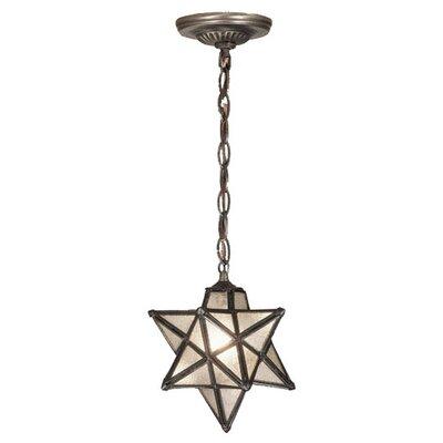 Moravian Star 1 Light Mini Pendant Product Photo