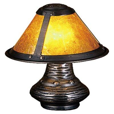 "Meyda Tiffany Van Erp Micro 6"" H Table Lamp with Bell Shade"