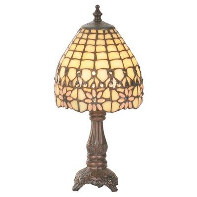 "Meyda Tiffany Victorian 13"" H Table Lamp with Empire Shade"