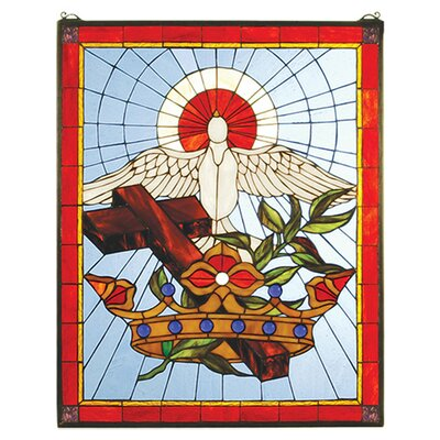 Meyda Tiffany Tiffany Christian Stained Glass Window