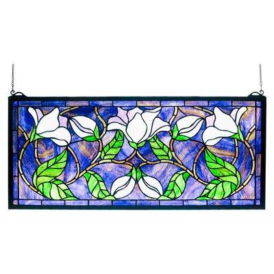 Meyda Tiffany Magnolia Stained Glass Window