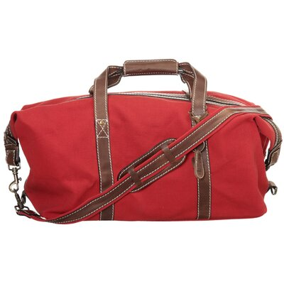 "Latico Leathers Southport Canvas 20.5"" Weekender Duffel"