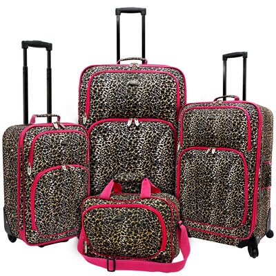 Fashion 4 Piece Spinner Luggage Set I by U.S. Traveler