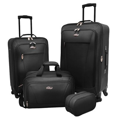 Charleville 4 Piece Spinner Luggage Set by U.S. Traveler