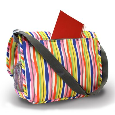 J World Terry Campus Messenger Bag