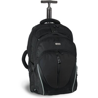 Dickens Rolling Backpack with Detachable Daypack by J World