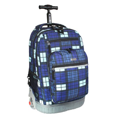 Sundance Rolling Backpack with Laptop Sleeve by J World