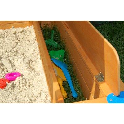Exaco Maxi Square Sandbox with Cover