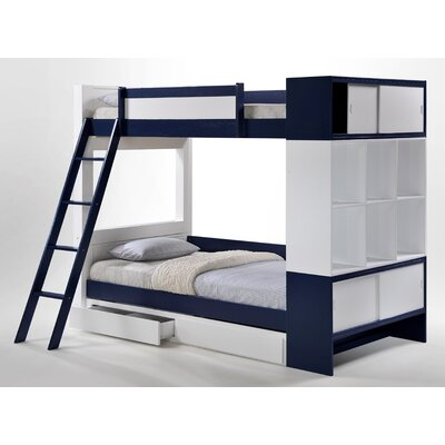 Aventura Twin Over Twin Bunk Bed by Status Furniture