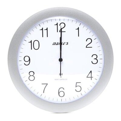 "Maples Clock Radio Controlled 12"" Wall Clock"