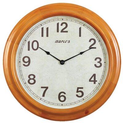"""Maples Clock 16"""" Wall Clock"""