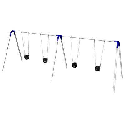 UPlay Today Double Bay Swing Set with Commercial Tot Seats Product Photo