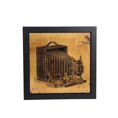 Vintage Camera Framed Wall Art by Privilege