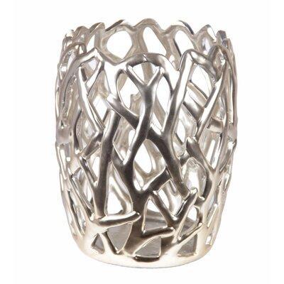 Ceramic Pierced Vase by Privilege