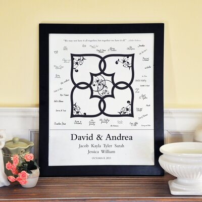 Cathys Concepts Blended Family Canvas Signature Guest Book