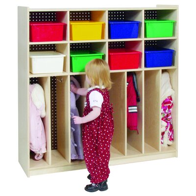 Steffy Wood Products 8-Section Locker