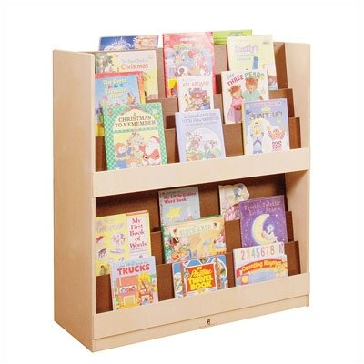 """Steffy Wood Products Double Sided 42.75"""" Book Display"""