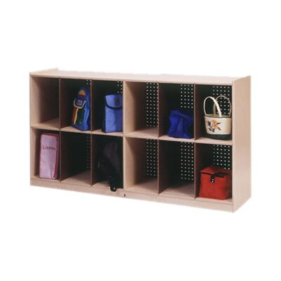 Steffy Wood Products Low 12 Compartment Cubby