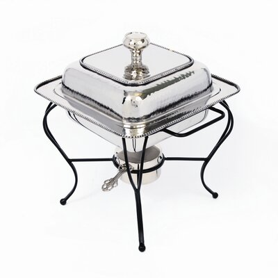 Star Home Nickel 2 Qt Square Chafing Dish