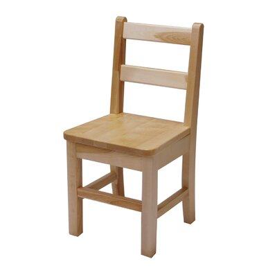 "J.B. Poitras 16"" Wood Classroom Chair"