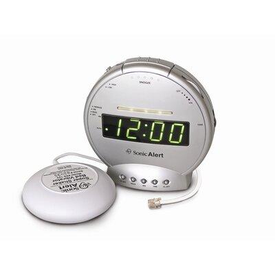 Sonic Alert Sonic Boom Vibrating Alarm Clock with Telephone Signaler