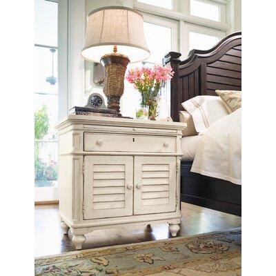 Paula Deen Home Steel Magnolia 1 Drawer Nightstand