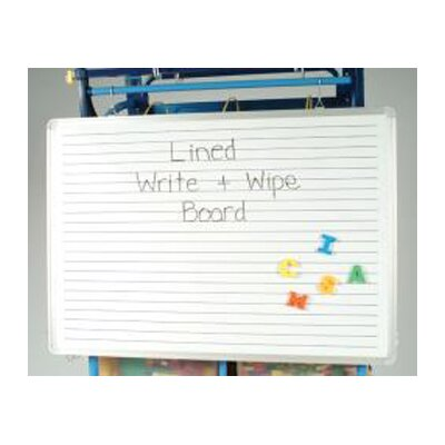 Copernicus Magnetic Lined Dry Erase Bulletin Board Cut Out