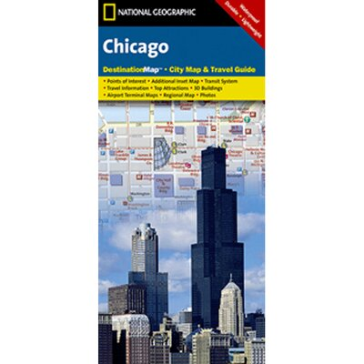 Chicago Destination City Map and Guide by Universal Map