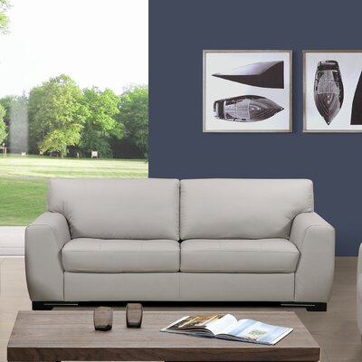 Dean Leather Sofa by Sofas to Go