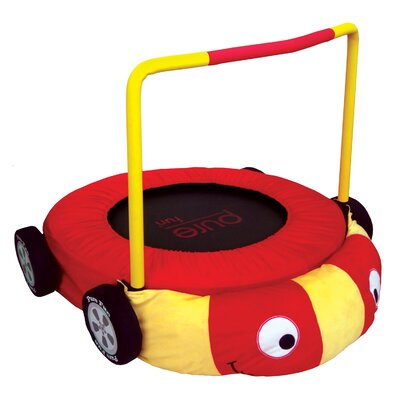 "36"" Race Car Jumper Trampoline Product Photo"
