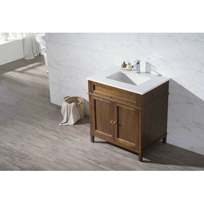 "Hamilton 31"" Single Sink Bathroom Vanity Set Product Photo"