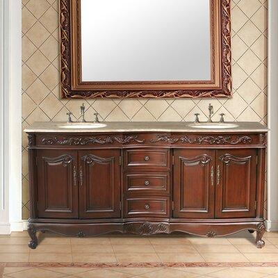 "Saturn 72"" Double Bathroom Vanity Set Product Photo"